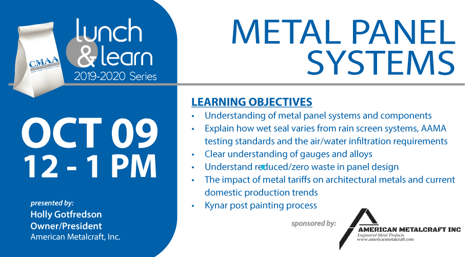 October 9 Lunch & Learn