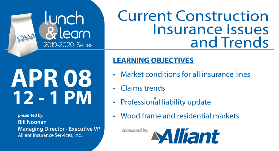 April 8 Lunch & Learn