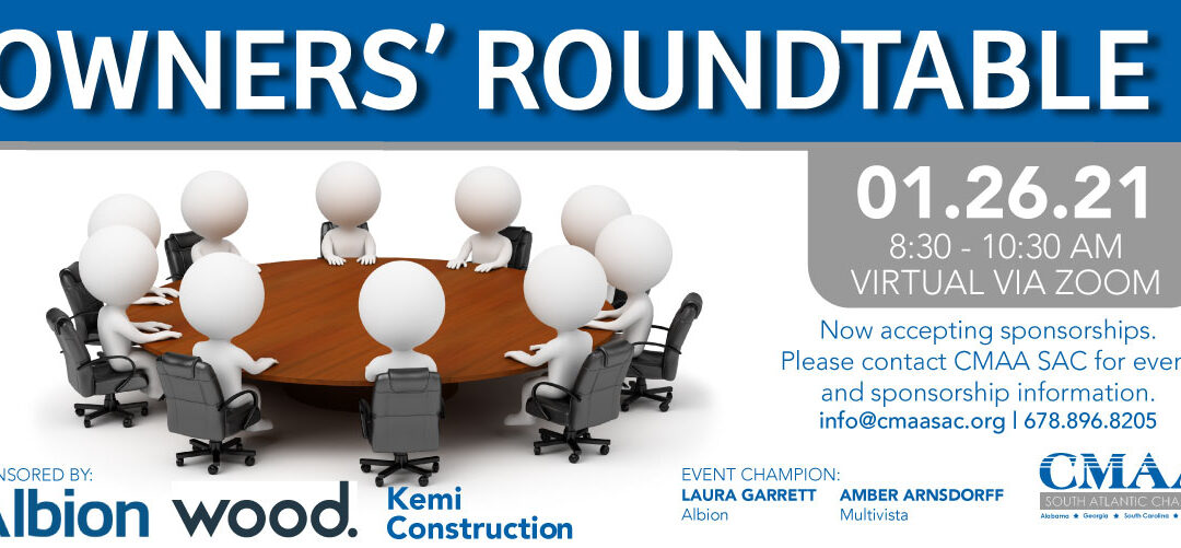 Breakfast Meeting | Owners' Roundtable